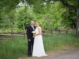 Bröllop vid Madesjöstallarna.